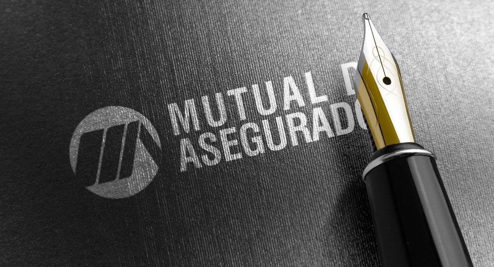 Diseño logo mutual de asegurados
