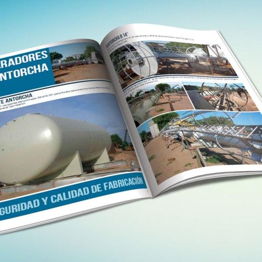 Diseño de Catálogo de Productos para Tubomec
