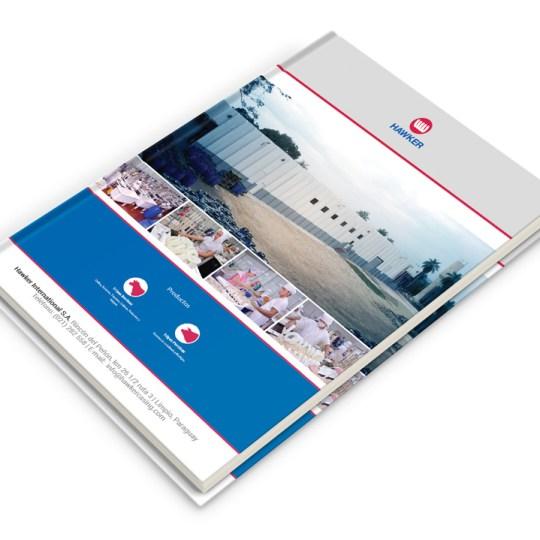 Diseño de cuaderno para Hawker