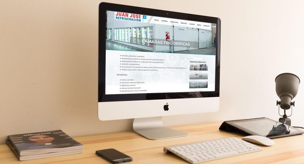 Diseño web Juan José Refrigeración