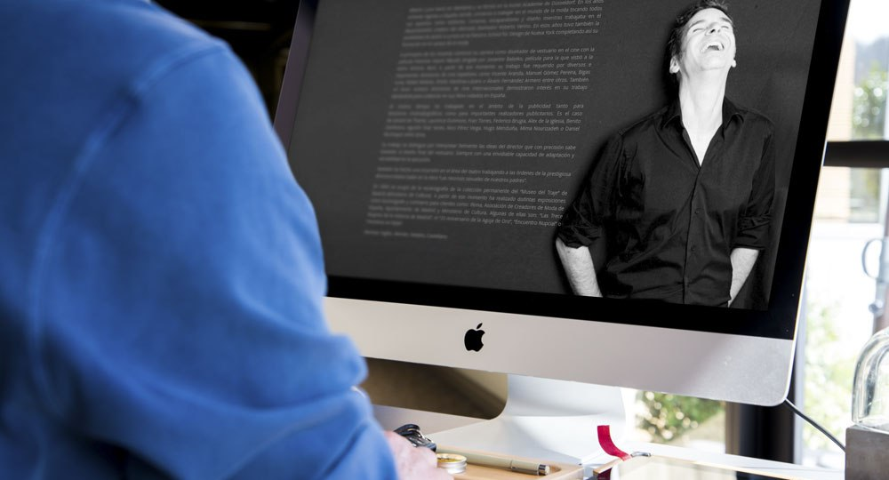 diseño web Alberto Luna