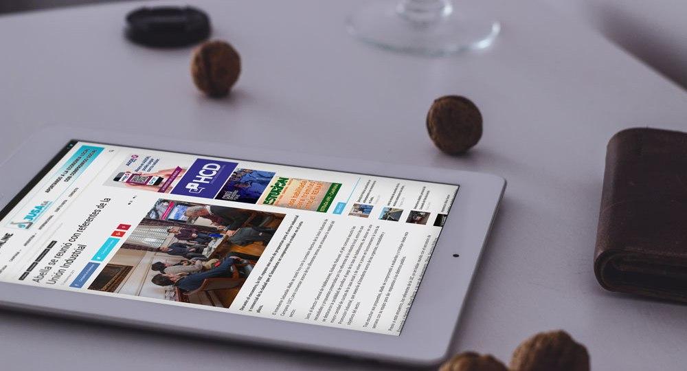 diseño web para Campana Online