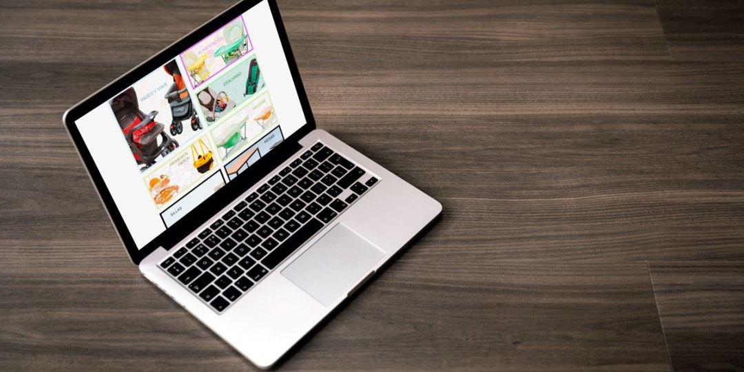 diseño web para Concord Baby
