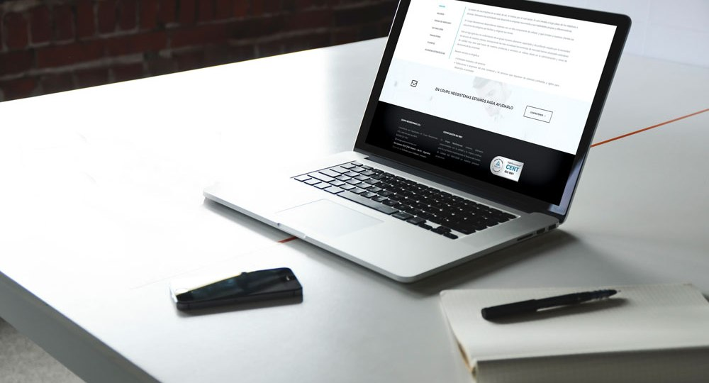 Diseño web Para Grupo Neosistemas