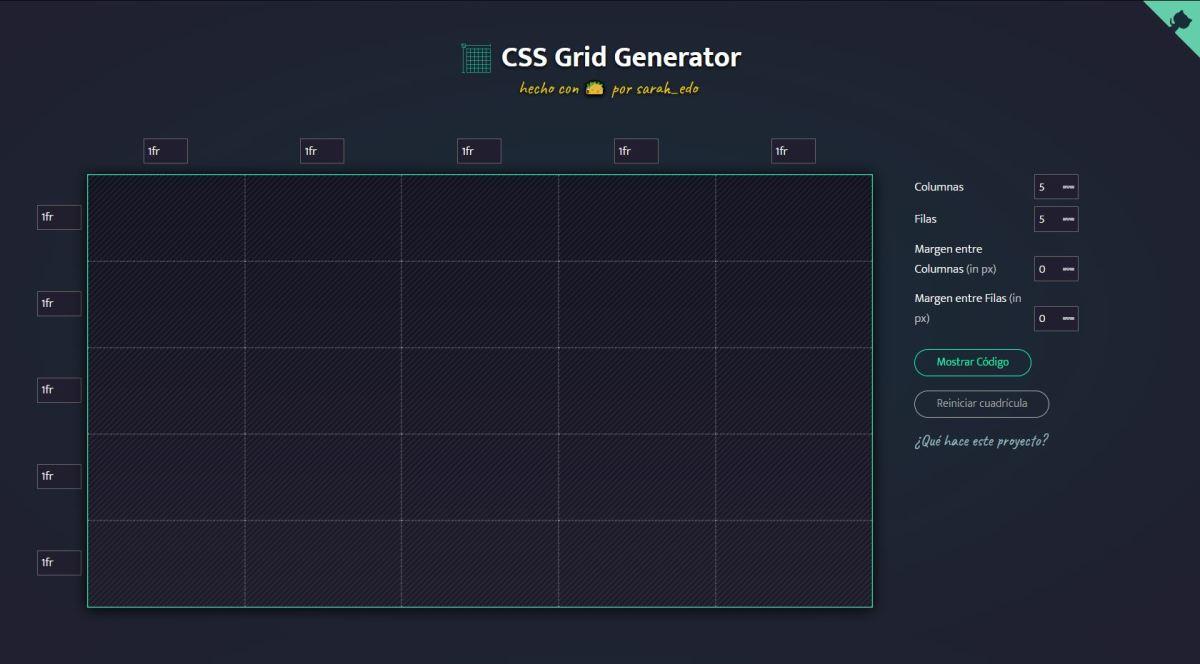 Css Grid Generator