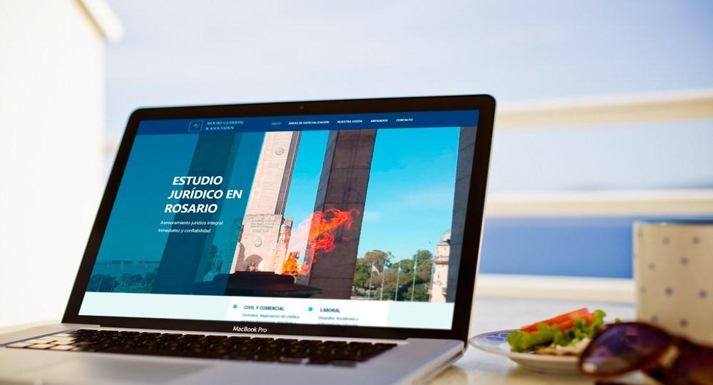 Diseño Web Abogados Rosario