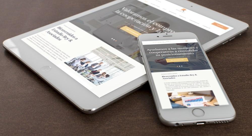Diseño Web Estudio Rey Mutuales