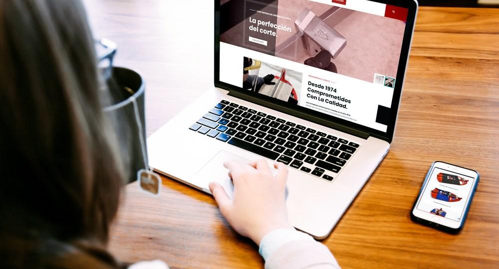 Diseño Web Para Cortadoras Zonta