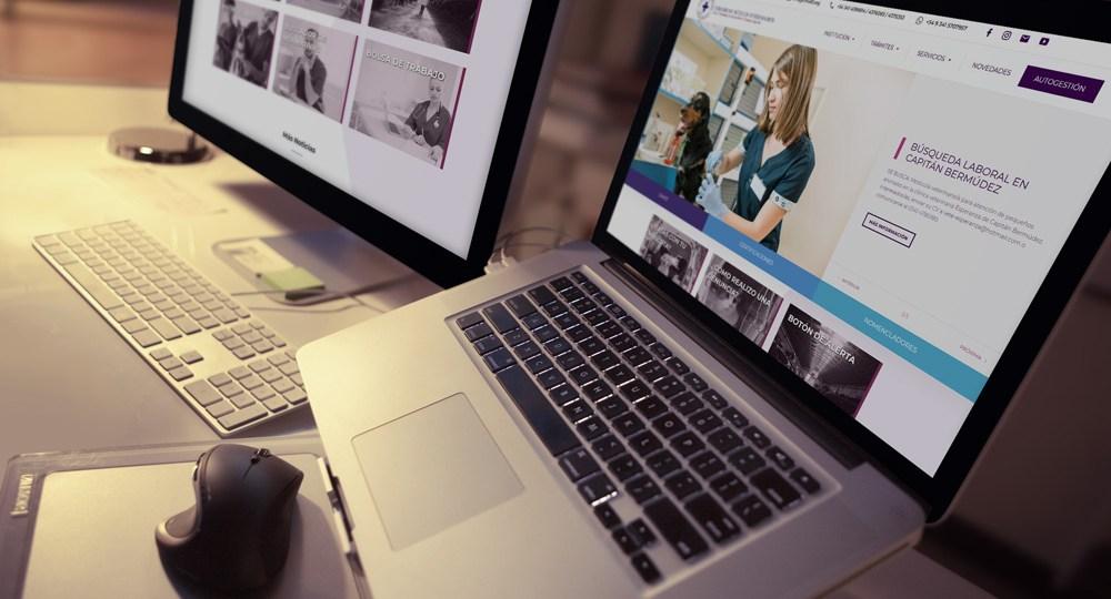Diseño Web Colegio Veterinario