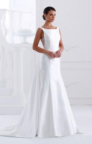 abito bianco lungo
