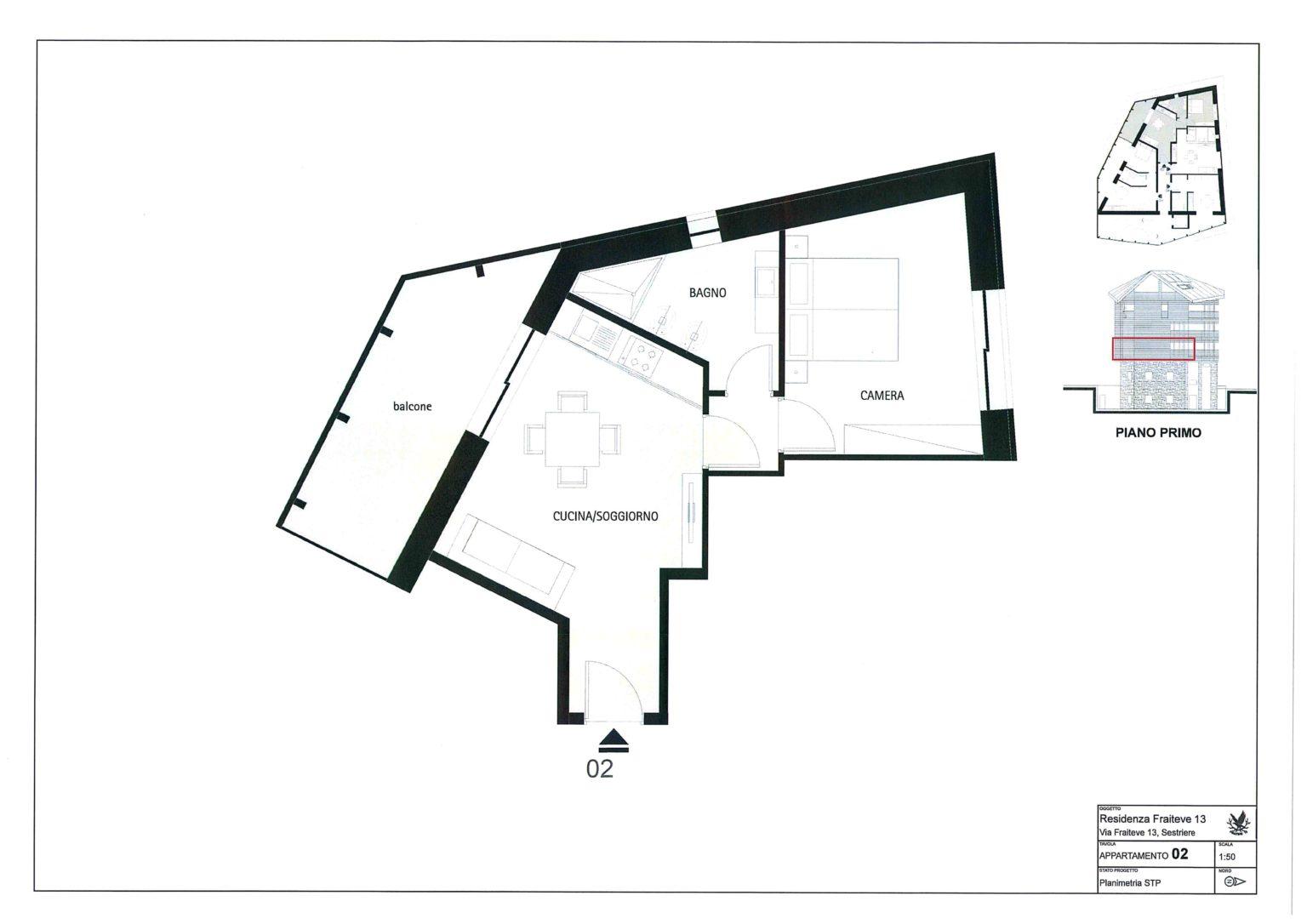 Nuova Costruzione Fraiteve 13 Appartamento 2