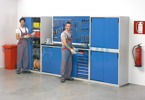 amenagement garage atelier armoire