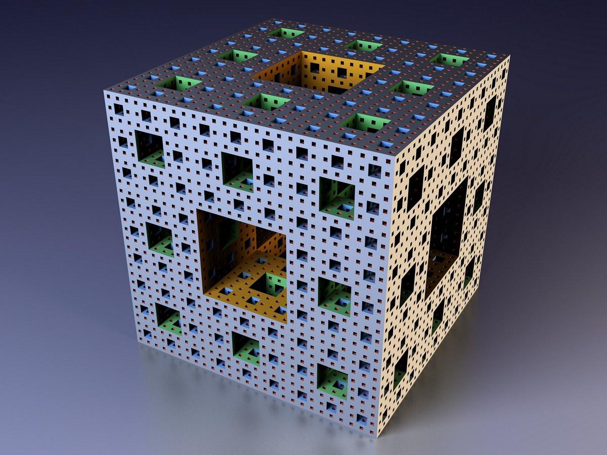 Cube Fractal Mandelbrot Wallpaper
