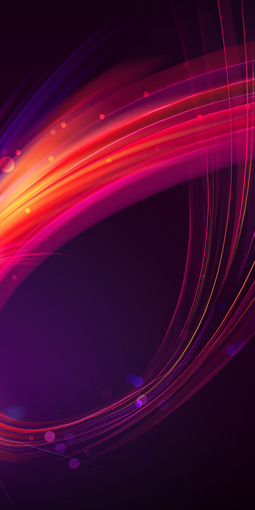 Abstract Wave Wallpaper 1080x2160