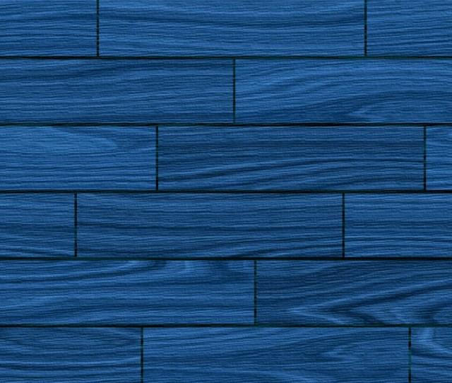 Basic Blue Wooden Wallpaper X X