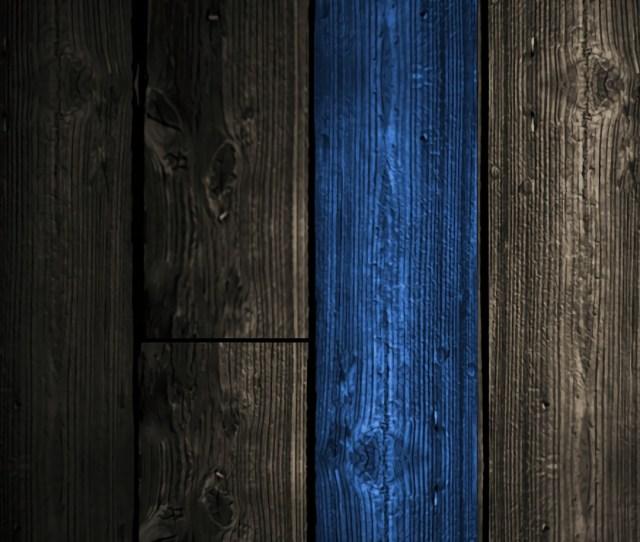 Blue Wood Wallpaper X X