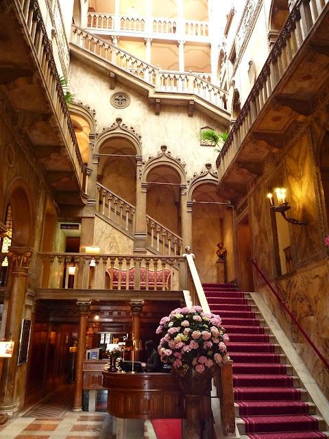 Staircase, Hotel Danieli, Venice