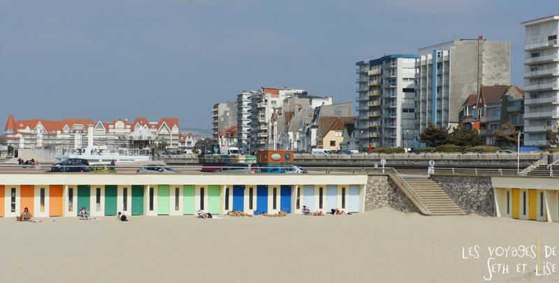 blog voyage touquet france cabine plage immeuble