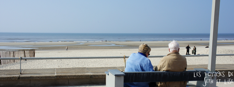 blog voyage touquet france couple plage vieux