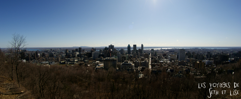 blog voyage canada montreal panoramique mont royal building