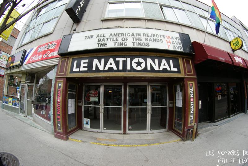 blog voyage canada montreal pvt concert national show oldschool