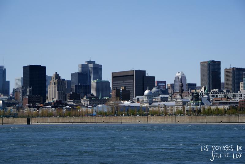 blog pvt canada montreal couple voyage building downtown vue parc jean drapeau
