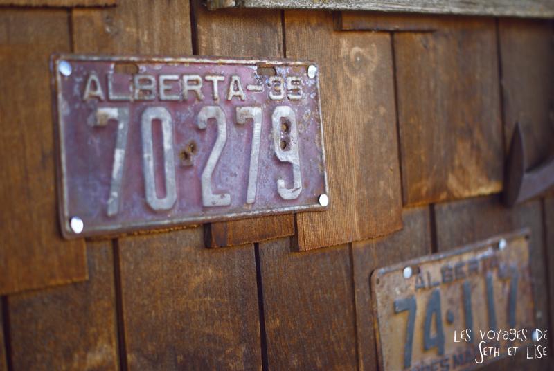 blog canada photo voyage pvt alberta big valley immatriculation plaque