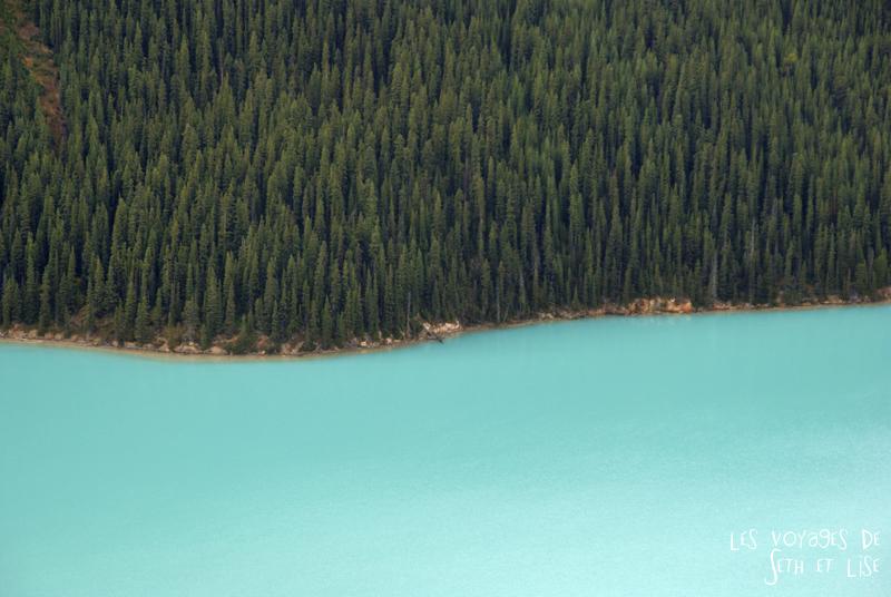 blog pvt photographie pvtiste canada alberta rocheuses rockies moutains voyage montagne couple tour du monde nature parc national lac lake peyto blue