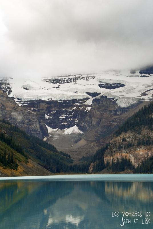 blog pvt photographie pvtiste canada alberta rocheuses rockies moutains voyage montagne couple tour du monde nature parc national lac lake louise cloud nuage