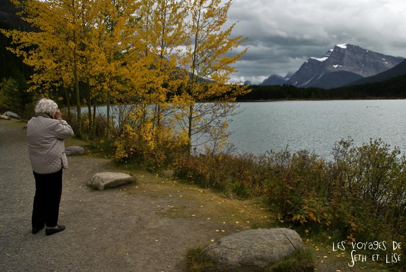 blog pvt photographie pvtiste canada alberta rocheuses rockies moutains voyage montagne couple tour du monde nature parc national lac lake mamie