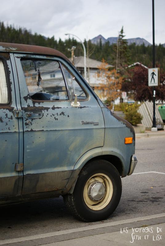 blog pvt pvtiste voyage photo photographie couple tour du monde canada japser rockies alberta rocky mountain vintage ville urban van voiture
