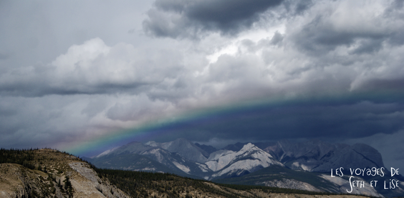 blog voyage canada pvt photo alberta rocheuses rainbow