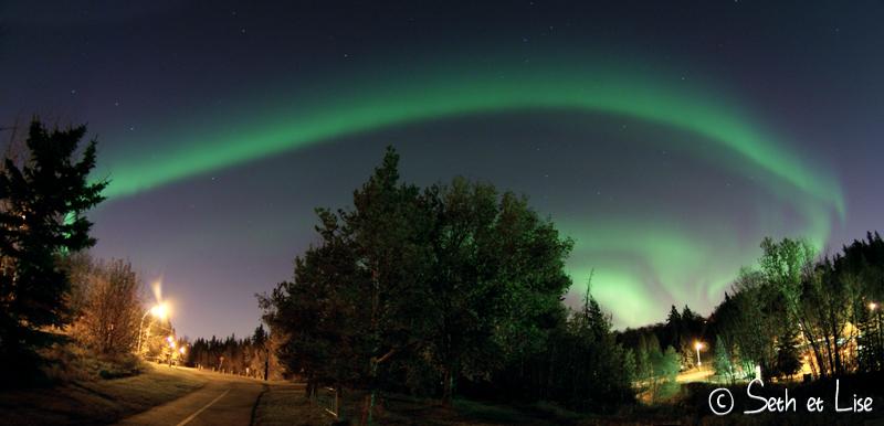blog voyage canada pvt photo aurore boreale aurora northern lights edmonton nuit