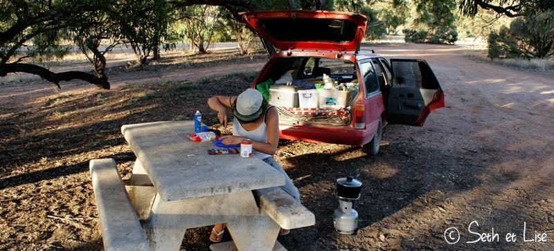 blog voyage conseil road trip aventure roadtrip voiture van camping pique nique repas