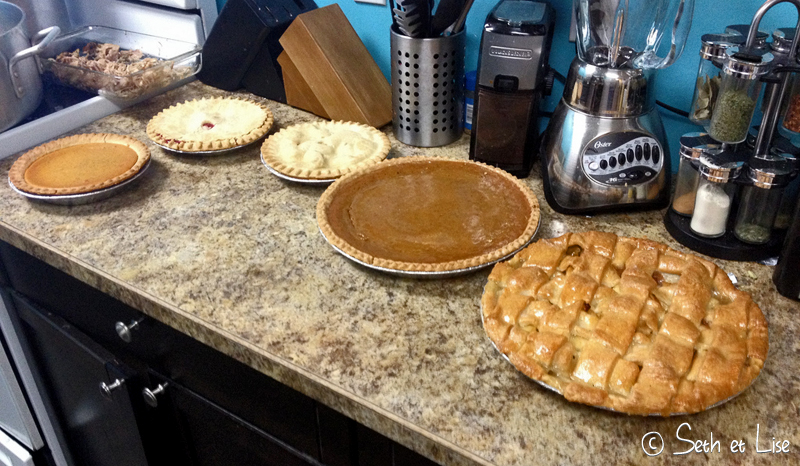 blog voyage canada pvt photo thanksgiving tradition repas tarte
