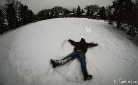 ange neige
