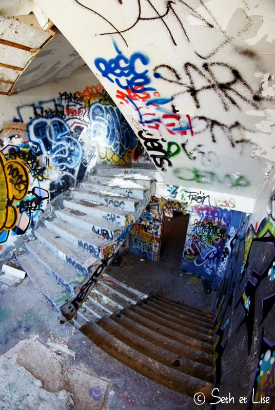 blog pvt canada montreal urbex streetart graffiti canada urban stairway