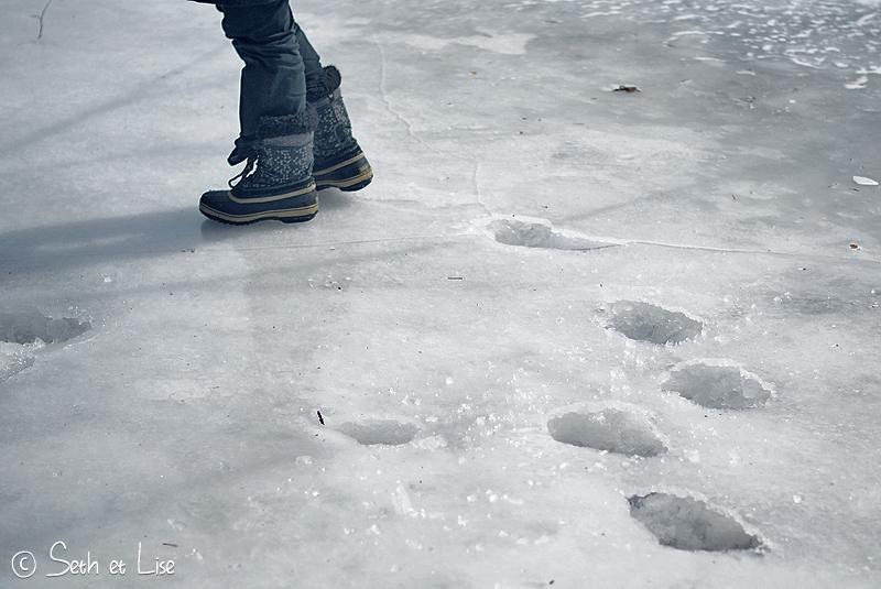 blog pvt canada montreal hiver glace printemps blanc photographie seth lise marche