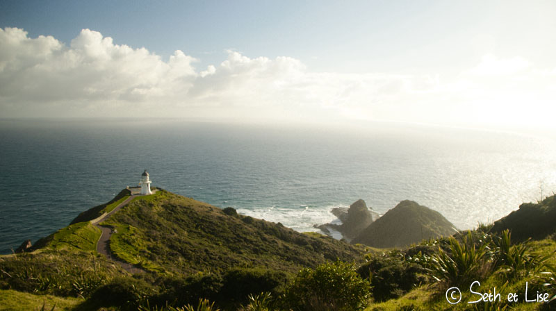 blog whv pvt nouvelle zelande voyage tour du monde northland cape reinga te pako couple seth lise