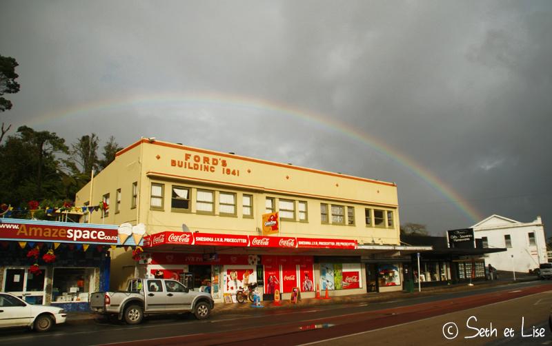 blog whv nouvelle zelande voyage tour du monde couple photographie kawakawa kerikeri maori million dollar view road