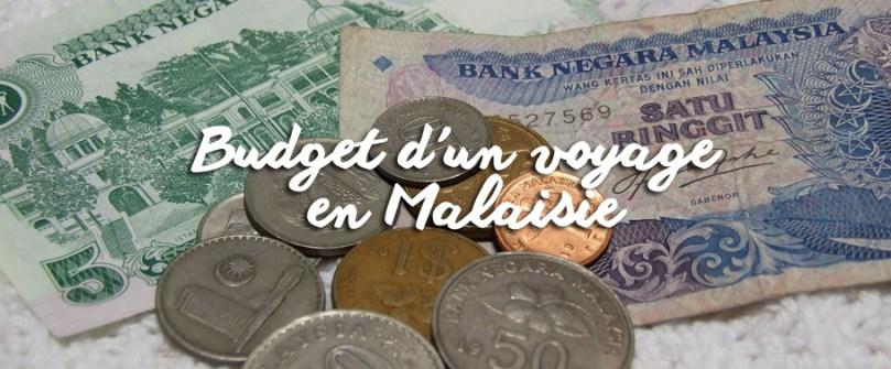Budget d'un voyage en Malaisie