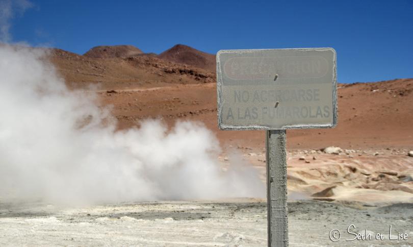peligro geyser