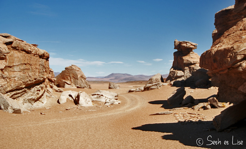 desert rock bolivia