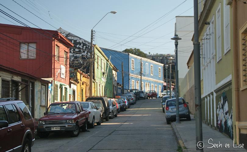 colors valparaiso street