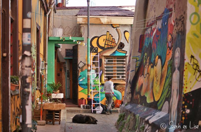 street artist valparaiso