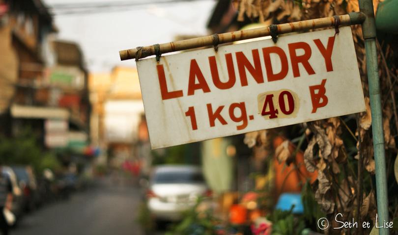laundry bangkok thailand