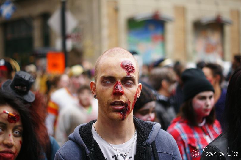 zombie marche des zombies montreal