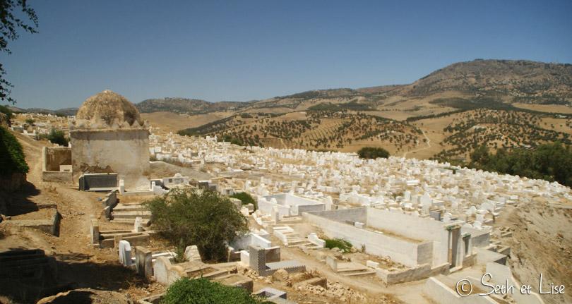panorama tombeaux des mérinides