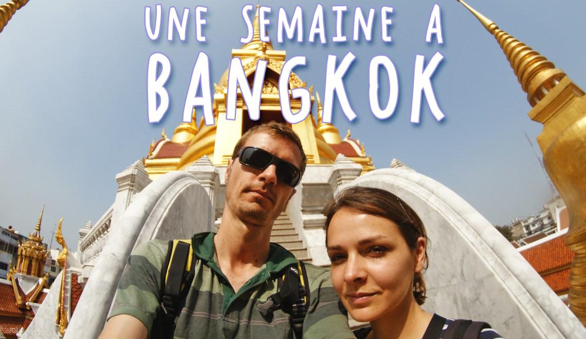 Une semaine à Bangkok, la vidéo