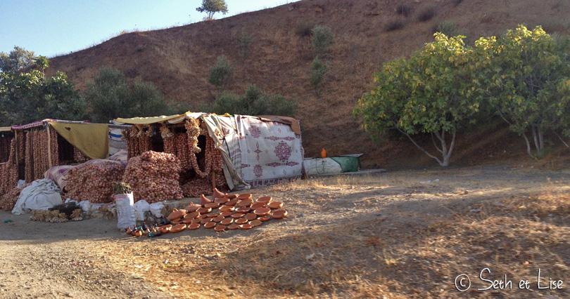 Marchand oignons maroc